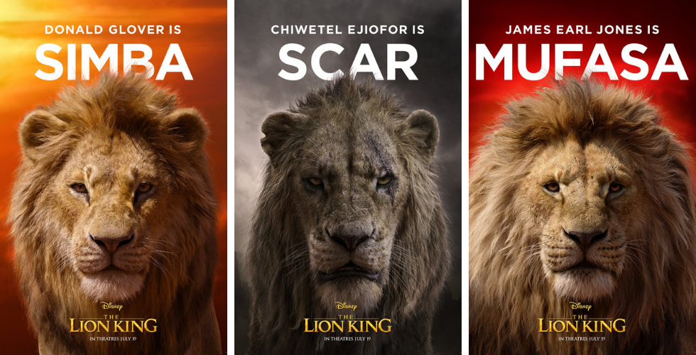 Characters of The Lion King