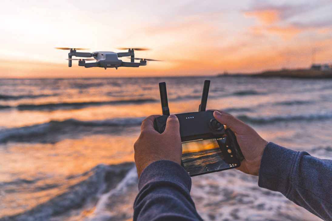 finding lost drones