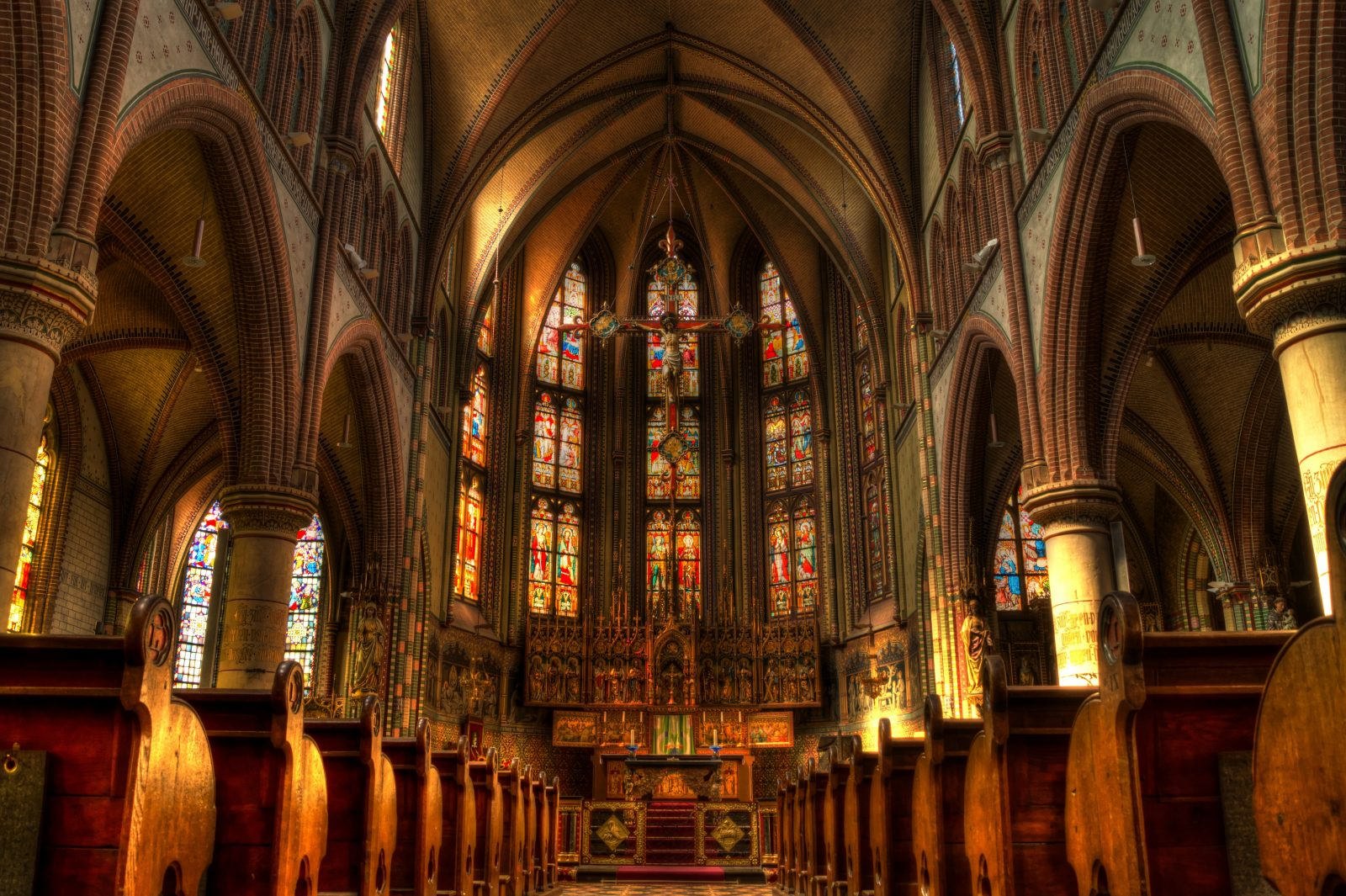 do churches pay property tax
